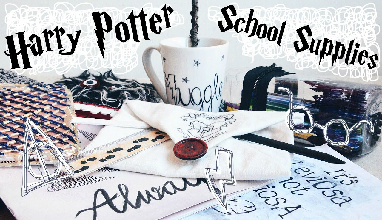 Back to school: Harry Potter style!