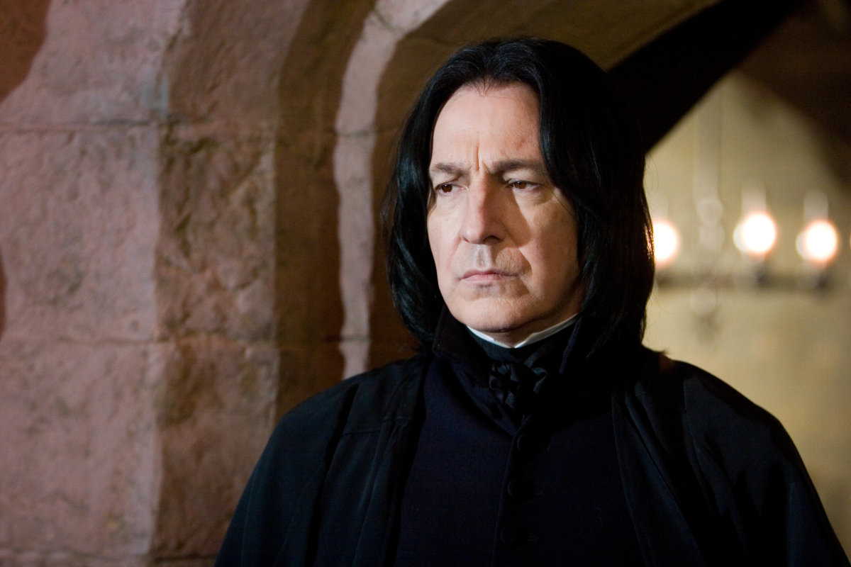 Characters through the story - Severus Snape